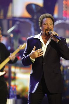 Tom Jones---His look at the concert I attended when I was 54; he still had it. Love him and love his voice...