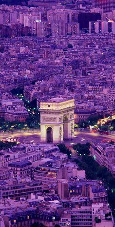 Paris...arc de triumph♥