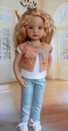Dianna Effner 13 IN Little Darling 2 Artisan Doll by Kuwahidolls