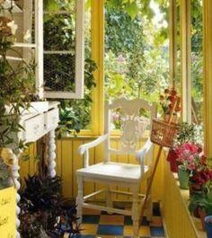 .cottage porch. t