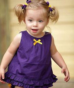 Another great find on #zulily! Grape Swing Top - Infant & Toddler by RuffleButts #zulilyfinds