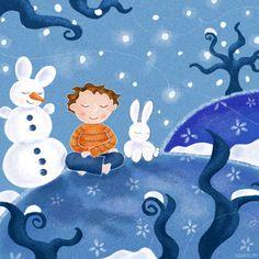 """""""Men of Snow"""" by Elisabeth Zartl (01/23/15) http://www.deviantart.com/#/art/men-of-snow-144178629?hf=1"""