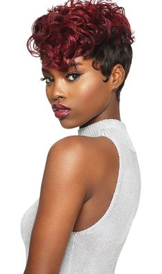 Outre Human Hair Duby Wig Clipper Cut - Romance Your favorite Duby styles, now available as Wigs! Duby's popular basic styles are suitable for work, home and evenings. 100 Human Hair Wigs, Remy Human Hair, Remy Hair, Bobbi Boss Wigs, Clipper Cut, Human Hair Color, Hair Romance, Air Dry Hair, Lace Wigs
