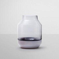 Elevated vase by Muuto Product Design #productdesign (Minimal Bottle Design)