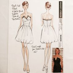 #tbt Maggy London Dresses 2011 @shawnamcgee_ny @lrpeacock #renaldobarnette #strapless #straplessdress #fashion #fashionart #sketches #fashionsketch #dress #dressdesign #fashiondesignsketch #designsketch #chic #pretty #instalike #lookoftheday