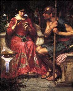 Jason and Medea by John William Waterhouse, 1907