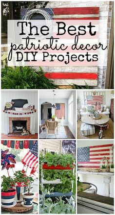 The Best Red White & Blue Decor Lovely red white & blue decor! A must pin for all summer decor & patriotic holidays from centerpieces room makeovers furniture patios & more! The post The Best Red White & Blue Decor appeared first on Summer Diy. Fourth Of July Decor, 4th Of July Decorations, 4th Of July Party, July 4th, Memorial Day Decorations, House Decorations, Holiday Decorations, Birthday Decorations, Seasonal Decor