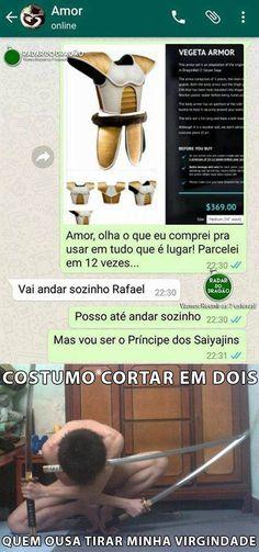 O PRÍNCIPE DOS SAYAJINS NÃO QUER VERMES ANDANDO DO SEU LADO..