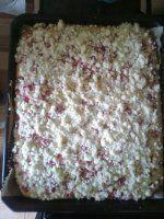 Rebarborový koláč (recept po babičce)
