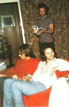Neil Young and JIm Morrison