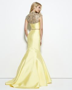 Nothing says spring like a hot yellow dress! Choose Mac Duggal! Style 62340M