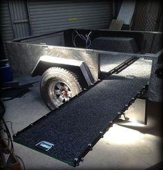 Dave's Off Road Camper Trailer - built using plans from TRAILER PLANS www.trailerplans.com.au