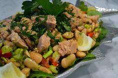 Tuna and Bean Salad | labellasorella.com