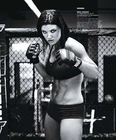 Gina Carano is completely responsible for me overdoing it in the gym lately…