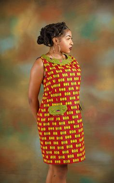 I love womens african fashion African Fashion Ankara, Latest African Fashion Dresses, African Print Fashion, Africa Fashion, African Shirt Dress, Short African Dresses, African Print Dresses, African Attire, African Wear