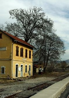 Railway Station of Vefis (OSE), Florina, Greece Places In Greece, Thessaloniki, Heaven On Earth, Greece Travel, Planet Earth, Old Photos, The Good Place, Travel Inspiration, Travel Destinations