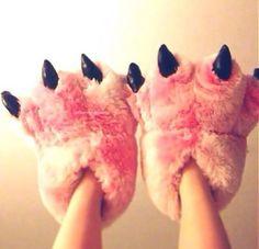 Pantuflas-garras-hermosa-Woow