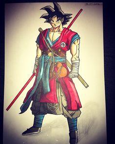Goku's new Outfit  How do you like it?   #newstyle #vegeta #goku #dragonballsuper #db #dbs #dbgt #drawing #dragonball #dragonballz #sketch #anime #manga #copic#animeart_tr#animeartshelp by noli.art