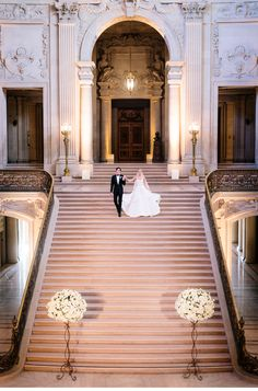 Our Muse - Old-World, Dreamy Wedding in San Francisco - Be inspired by Ekaterina & Liam's dream-like wedding in San Francisco - san francisco city hall, city hall wedding, luxury wedding, dramatic, san francisco wedding, wedding, bride, groom, wedding photography, old world wedding, romantic