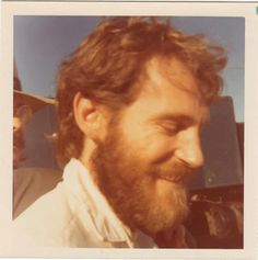 Candid pic of Levon Helm snapped by artist Maria Mijares in Toronto '70