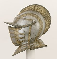 Closed Burgonet, ca. 1560. Italian. The Metropolitan Museum of Art, New York. Bashford Dean Memorial Collection, Gift of Miss Harriet M. Dean, 1929 (29.152.2)