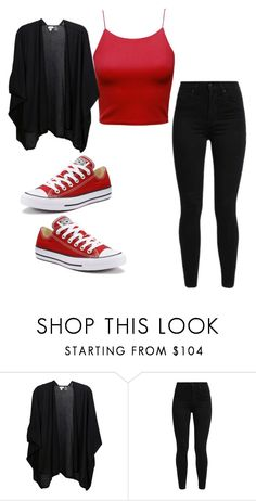 """Untitled #1132"" by august-baee on Polyvore featuring Kinross, Levi's and Converse"