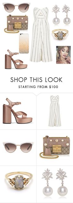 """Summer brunch"" by music4life12 on Polyvore featuring Jil Sander, River Island, Gucci, BEA and Yoko London"