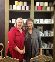 Stockist Ingrid from Palette Decor & Kitchens in Pietermaritzburg, South Africa. #ChalkPaint #AnnieSloan #MoreThanPaint