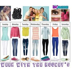 Week With The Rooney's From Liv And Maddie