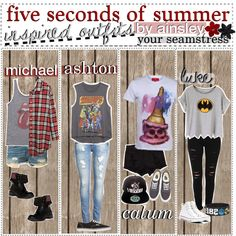 5sos inspired outfits // your seamstress, ainsley!