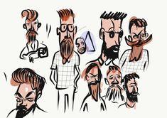 Adobe Illustrator, Draw, Comics, Illustration, Fun Projects, Art Director, Advertising Agency, Illusions, Illustrations