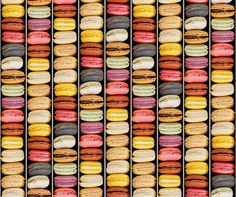 Macaroons (Wallpaper) by Kemra Boutique Wallpapers at Bouf.com
