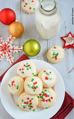 Soft frosted cookies