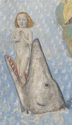 Like a fish out of water – Manuscript Art Medieval Manuscript, Medieval Art, Renaissance Art, Illuminated Manuscript, Saint Firmin, Eslava, Tableaux Vivants, Medieval Paintings, Amiens