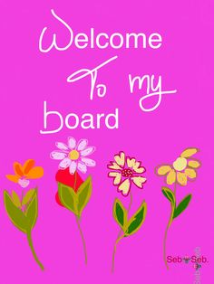 ❤️ Welcome to this Beautiful Board of Vibrant Colors ❤️