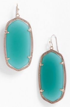 Gorgeous shot... well what's not to love !   'Danielle' Oval Statement Earrings