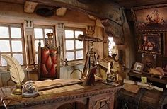 pirate ship interior concept art - Google Search