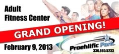 Grand Opening of our Fitness Center!! Woohoo! 4517 Jessup Grove Rd, Greensboro, NC 27410