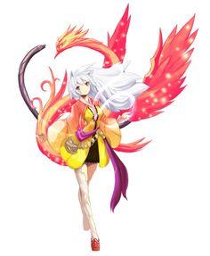 Lost Saga Characters  Female jin kasaragi