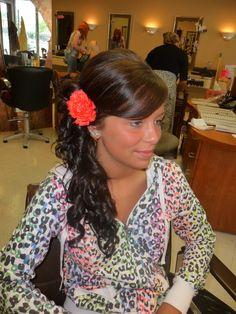 Prom Hair. cute & basic.