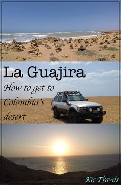 How to visit the beautiful Guajira Peninsula, the desert region in Northern Colombia. Explore the different options available to backpackers including tours and doing it yourself. See the amazing Dunas de Taroa, Cabo de la Vela and Punta Gallinas and stand on the most northern point in South America