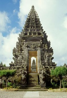 Bali temple - my husband and I were here and he was asked to wear a wrap as his shorts were just above the knee which was considered to short for such a holy place!