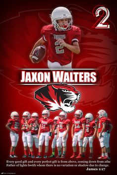 Personalized Football Poster - Youth Football Do you still have football photos from this past seaso Personalized Football, Custom Football, Football Design, Basketball Posters, Senior Pictures Sports, Sports Marketing, Sport Craft, Youth Football, Sports Graphics