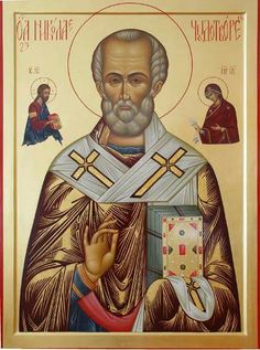 Saint Nicholas Santa Pictures, Orthodox Christianity, Saint Nicholas, Orthodox Icons, Catholic, Saints, Religion, My Favorite Things, Holiday Decor
