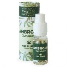 Ambrosia E-Liquid 20mg CBD 0mg NIC