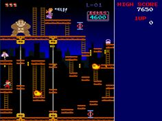 Donkey Kong Craze- No quarters needed to get your Donkey Kong on in this remake of a true classic! Choose between a classic Donkey Kong remake, with all the original levels or Donkey Kong 2. (click image to download from OlderGeeks.com)  #software #videogames #computers