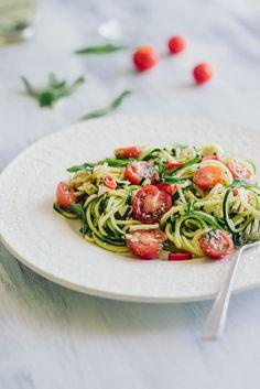 Zucchini Noodle Salad (Souvlaki For The Soul)