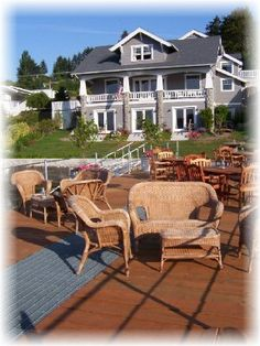 The Waterfront Inn {Gig Harbor, WA}, THE most beautiful spot to stay in Gig Harbor :)