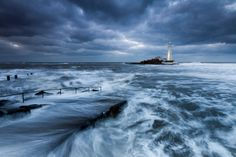 St Mary's and the Cold North Sea by Anita Nicholson on 500px