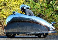 Randy Johnson Deco Helmet Decopod HR How To Build An Art Deco Motorcycle Helmet